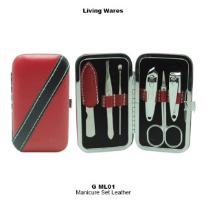 G-ML01_Manicure Set Leather