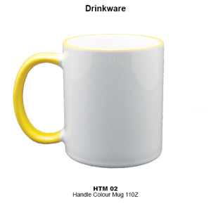 HTM-02 Handle Colour Mug 11oz