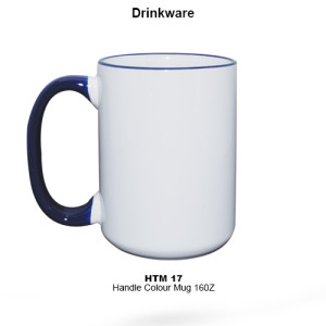 HTM-17 Handle Colour Mug
