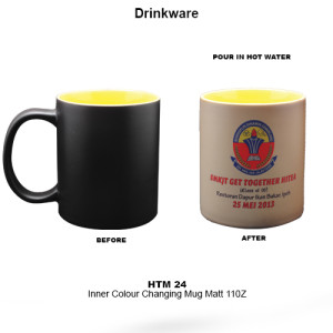 HTM-24 Inner Colour Changing Mug matt