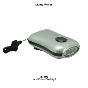 TL-308 Hand Crank Flashlight